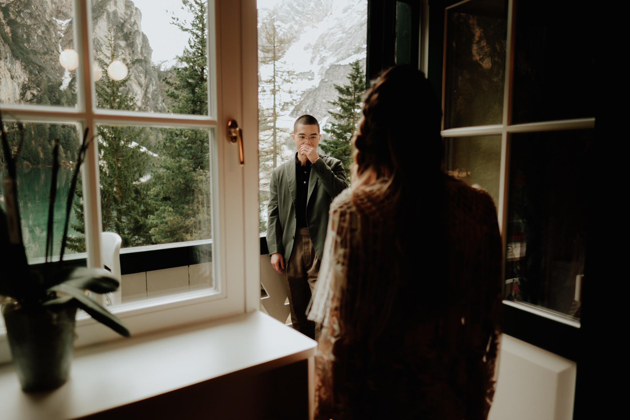 pragser wildsee dolomites elopement photographers
