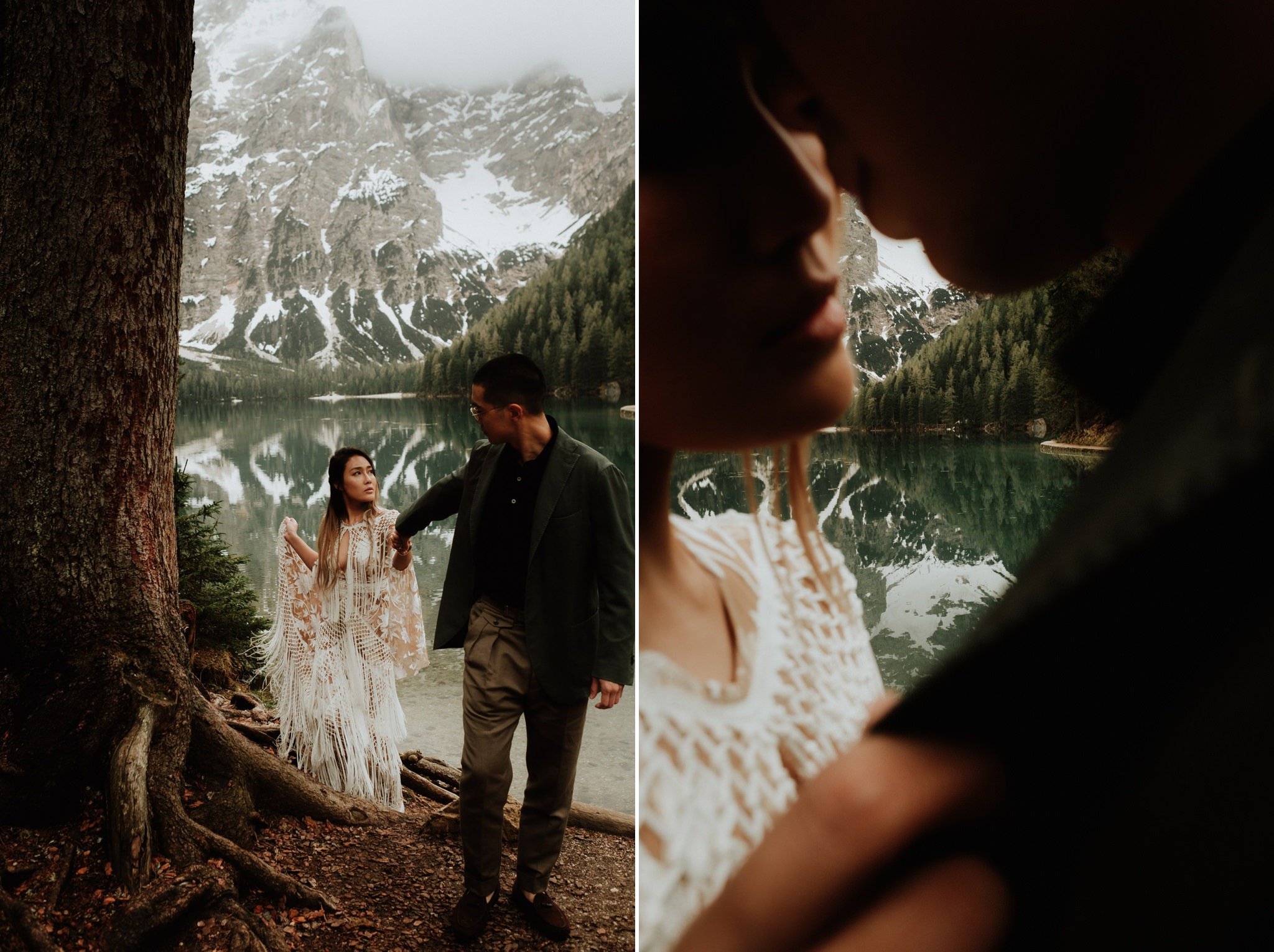 dolomites elopement photographers