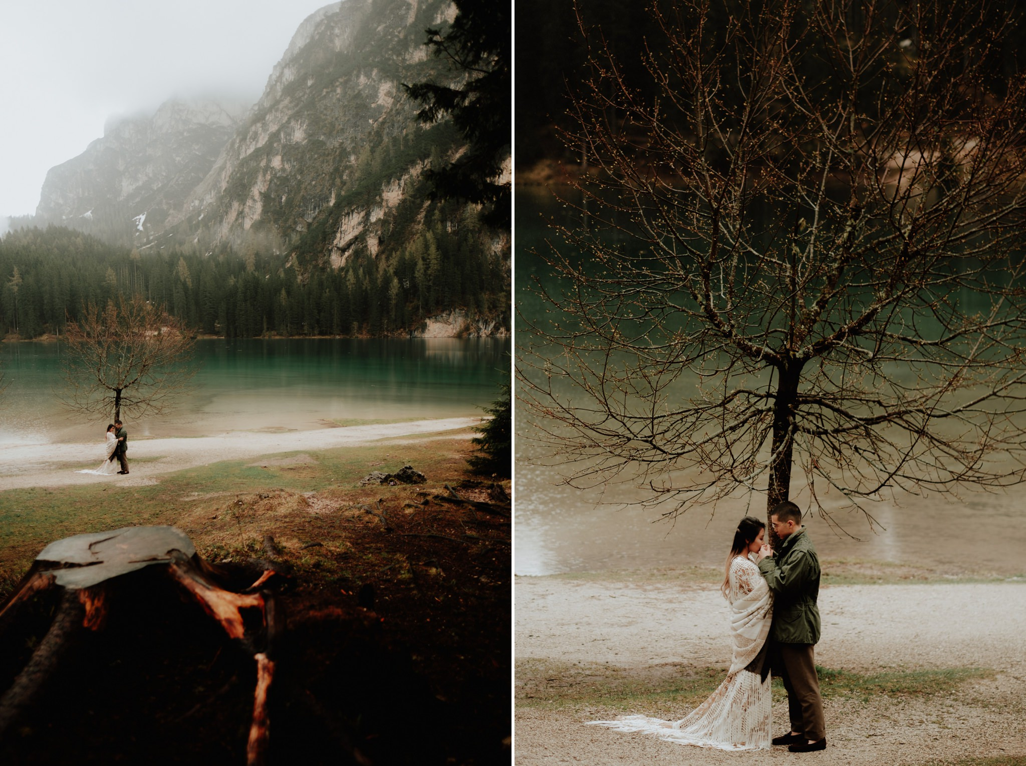hotel Pragser wildsee elopement photographers