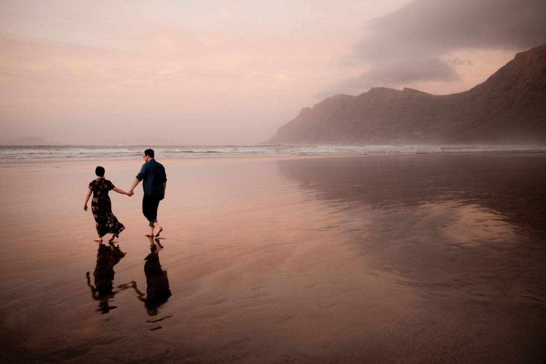 Lanzarote Famara Beach Photoshoot